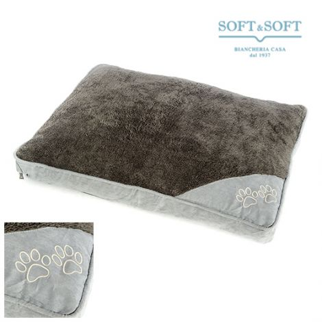 Pet Dog basket soft and warm removable case cm 79x58