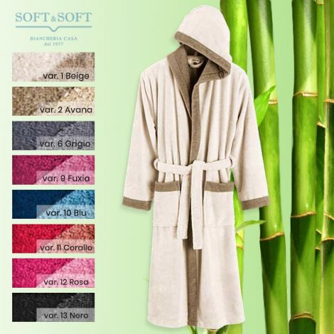 PANDA Soft Bathrobe - Housecoat made of Bamboo fibre