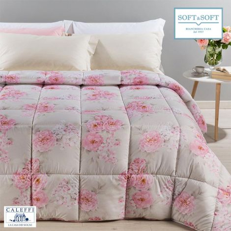 PEONIE Microfibre Comforter for Double Bed by CALEFFI