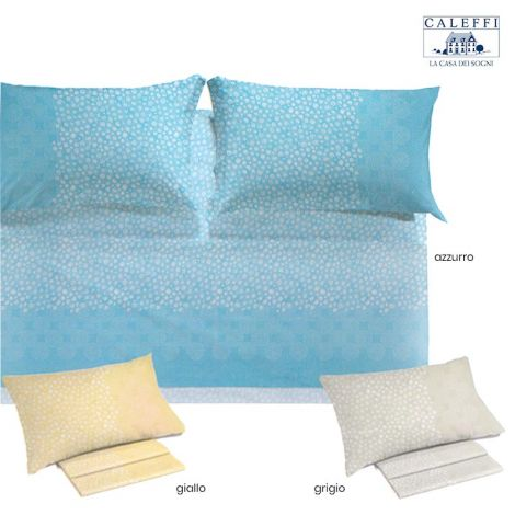 PERLE Sheet set for double bed by Caleffi