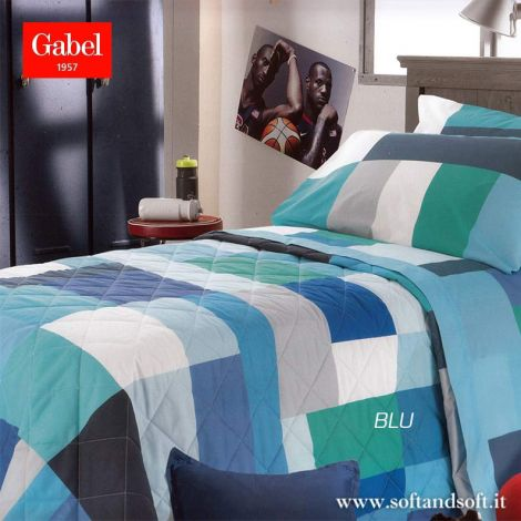 POLICROMIA Spring Quilted Bedcover for Single Bed by GABEL