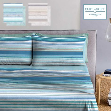 POWERFUL sheet set three-quater bed size pure cotton