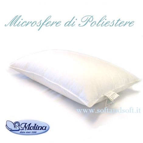 ROLLO FILL guanciale cuscino letto Molina Microsfere di poliestere