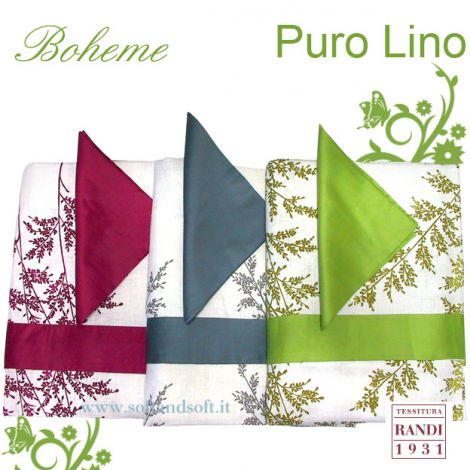 BOHEME Tablecloth for 12 people by Randi