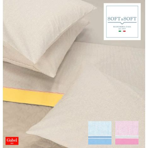 REMIX sheet set for single beds GABEL made in Italy