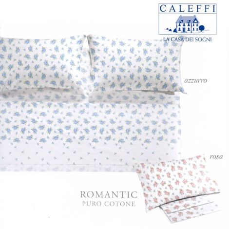 ROMANTIC Sheet set single bed by Caleffi