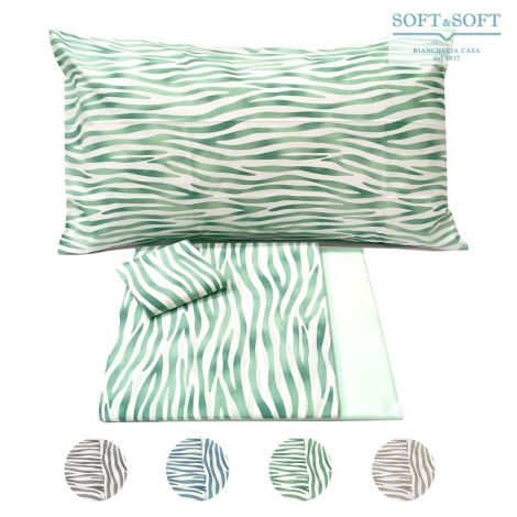 SAFARI Zebrine Sheet Set for Double Bed