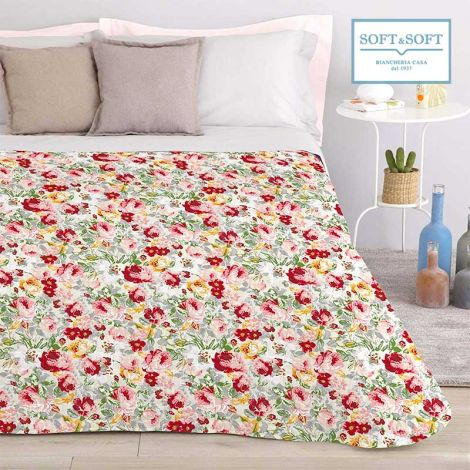 SANDERSON spring quilted bedcover for double bed