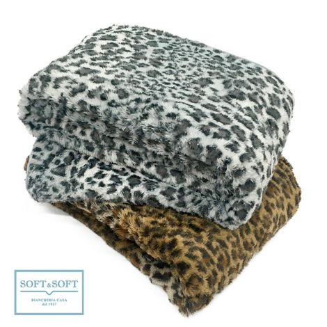 SAVANA blanket 210x240 in eco fur