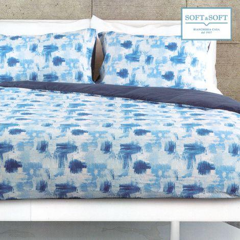 SHANGAI duvet cover parure double bed size microfibre