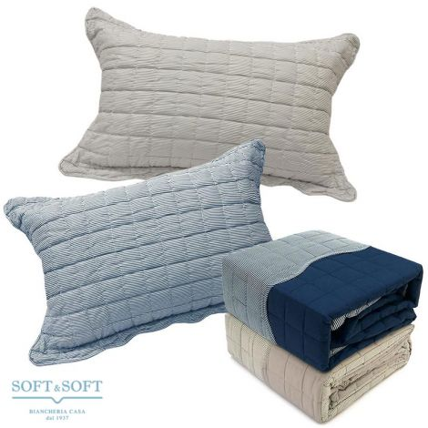 SHIRT Quilted DOUBLE FACE Bedcover DOUBLE BED Size