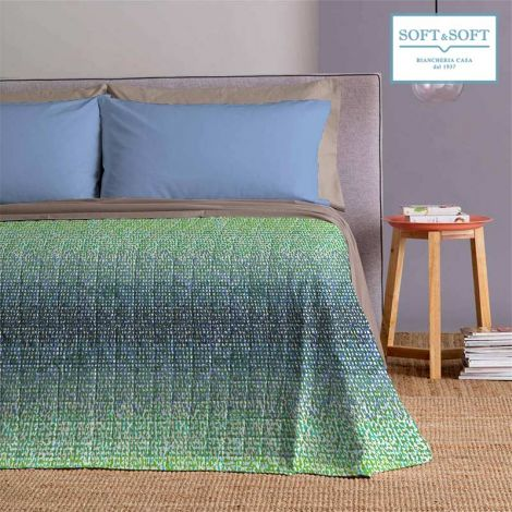 STAIN double quilted spring summer bedspread