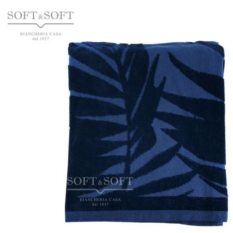 Palme telo Mare Blu cm 90x160 microspugna