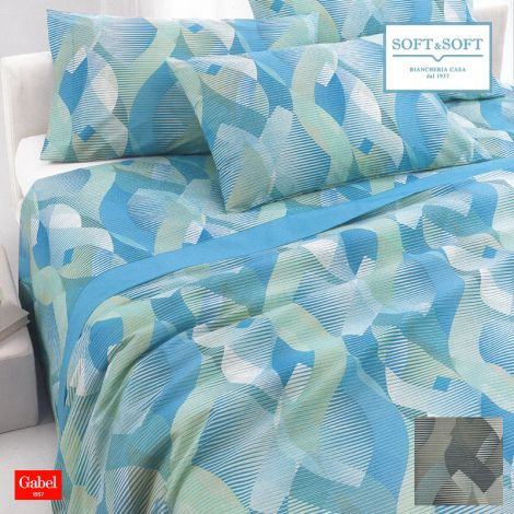 SUMMIT DOUBLE-SIZE bedcover cotton pique GABEL