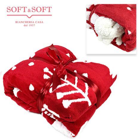 TEDDY Sherpa Blanket DOUBLE Bed Size cm 210x240