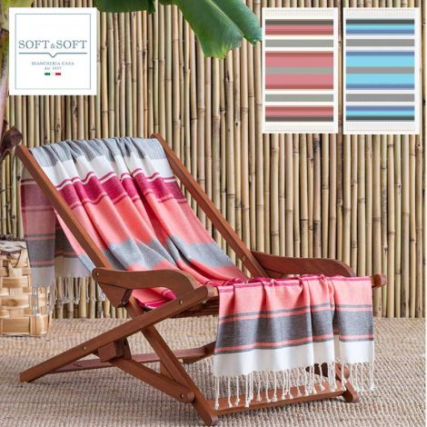 Kalafati Pure Cotton Beach Towel cm 100x180