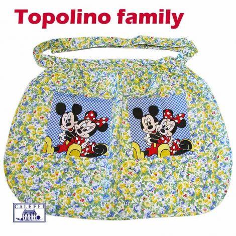 TOPOLINO Family Grembiule da cucina con tasche Disney