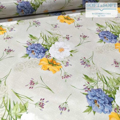 Laminated fabric for tablecloth cm 120H (sales per meter) Spring