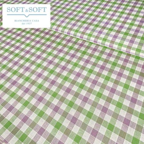 CAMPAGNOLA FABRIC FOR TABLE CLOTH Pure Cotton cm  140 Patterns