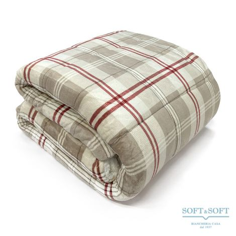 TRAPUNTONE pile quilt for double bed cm 250x250