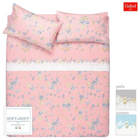 TREND GABEL printed cotton bed sheet set double bed size