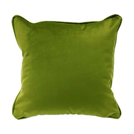 VELVET Cuscino Arredo Quadrato cm 40x40 in Velluto-Verde