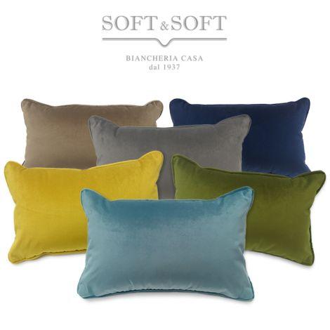 VELVET Rectangular Cushion cm 35x55