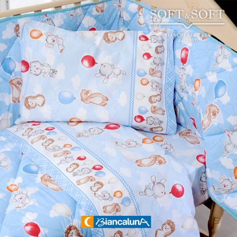 VEZZE Flannel Sheet Set for Cot by BIANCALUNA
