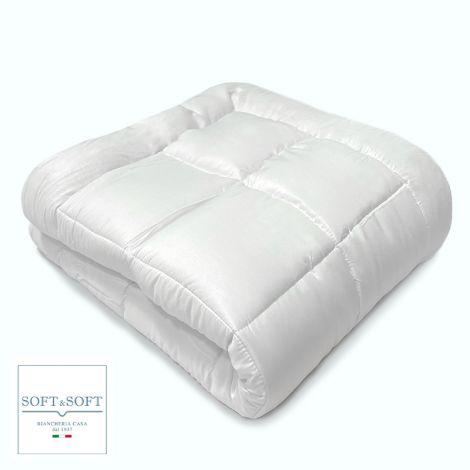 WHITE microfibre winter duvet 300g DOUBLE BED size